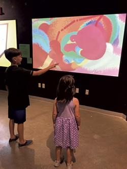 A digital drawing station - COURTESY OF HEATHER POLIFKA-RIVAS