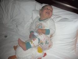 Baby Mira - COURTESY OF ALISON NOAVK
