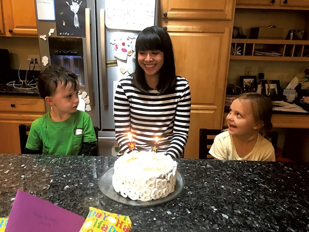 Becca Corneau's kids celebrate current au pair Jessica Heinze's birthday
