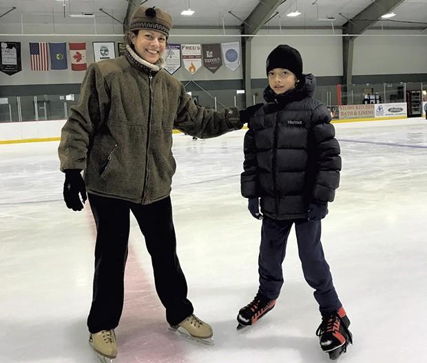 Janet Franz with son Zac