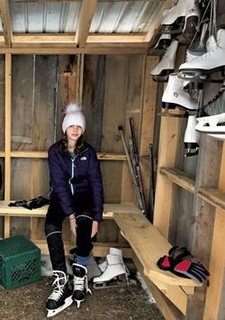 Skating shelter - MOLLY STANCIU