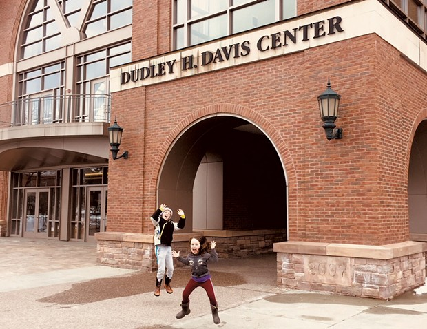 The entrance to UVM's student center - HEATHER POLIFKA-RIVAS