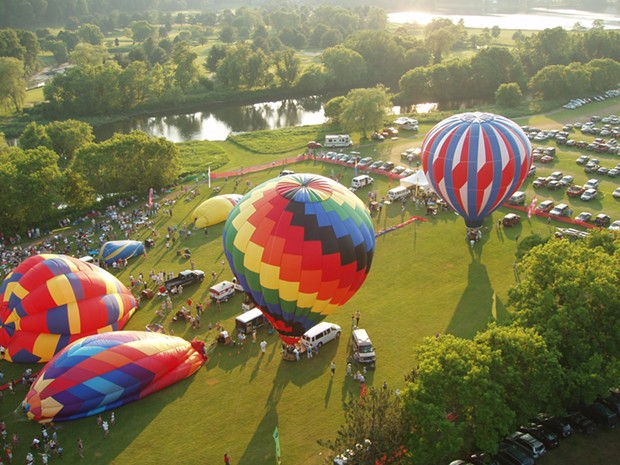 Quechee Hot Air Balloon Craft and Music Festival - COURTESY IMAGE