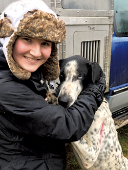 Teen musher Kayleigh DiMaggio - COURTESY OF KAYLEIGH DIMAGGIO