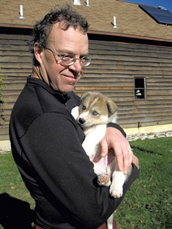 Rob Farley and Winston - COURTESY OF OCTOBER SIBERIANS