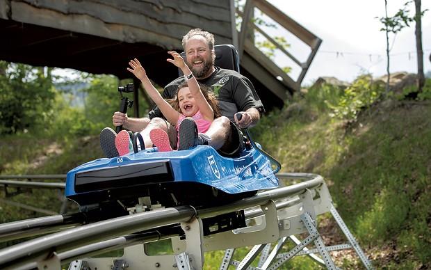 The Beast Mountain Coaster at Killington Resort - COURTESY BY CHANDLER BURGESS
