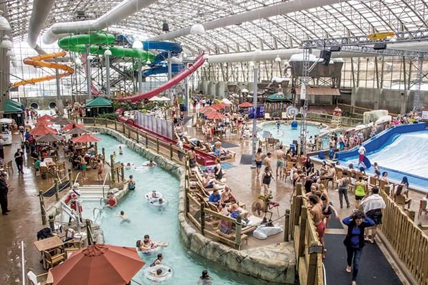 The Pump House Indoor Waterpark - COURTESY JAY PEAK RESORT