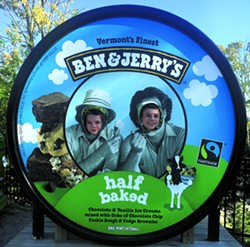 Ben & Jerry's Factory - COURTESY BROOKE BOUSQUET