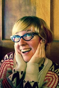 Fletcher Free teen librarian Abby Wanserski