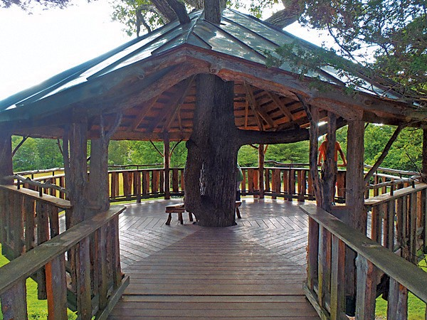 Oakledge Park's universally accessible treehouse - COURTESY OF B'FER ROTH