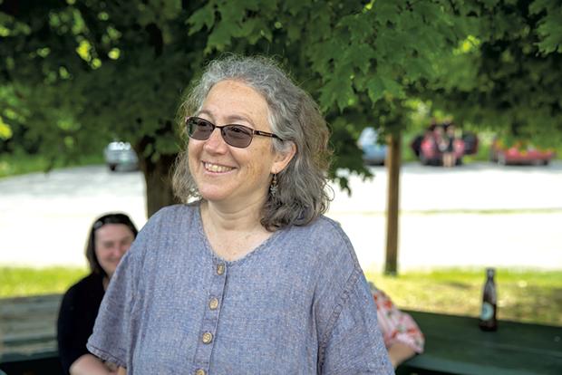 ReTribe leader and psychotherapist Jane Martin - JAMES BUCK