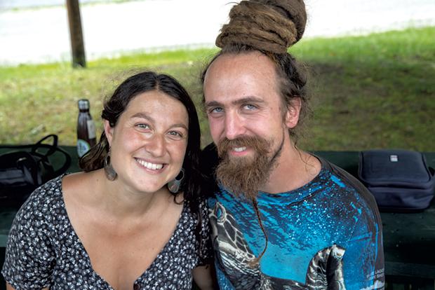 ReTribe founders Julia and John Hunt - JAMES BUCK