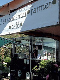 The Accidental Farmer Café - JOY CHOQUETTE