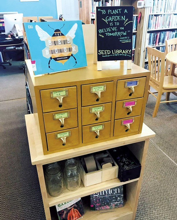 Jericho Town Library's seed catalog - COURTESY OF JERICHO TOWN LIBRARY