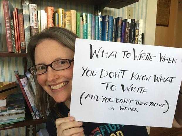 Vermont author Ann Braden hosts a three-part creative writing video series