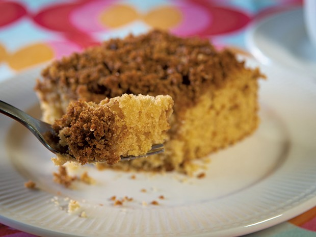 Mom's coffee cake - ANDY BRUMBAUGH