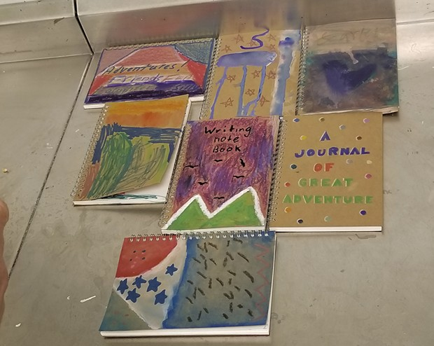Poetry journals created by the Superhero 6