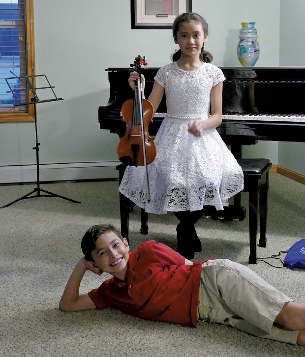 Sophia and Ethan