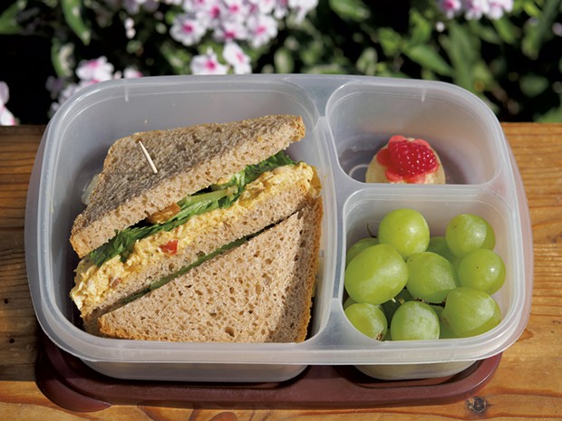 Coronation Chicken leftovers can be used in a school lunch - ANDY BRUMBAUGH
