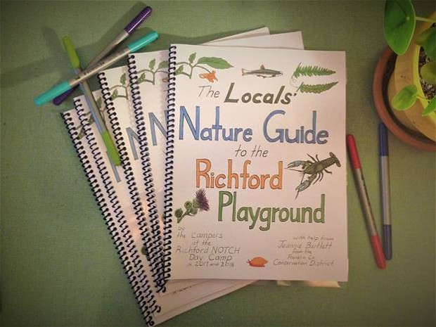 The cover of the new nature guide - COURTESY OF JEANNIE BARTLETT