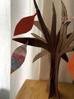 The gratitude tree - COURTESY OF MEREDITH BAY-TYACK