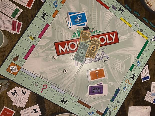 The Novak family's Monopoly board - ALISON NOVAK