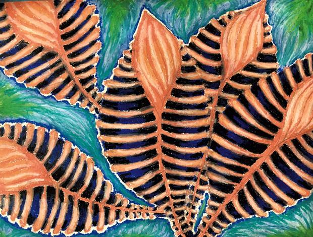 Artwork by Jada, grade 8 - COURTESY OF EMILY JACOBS