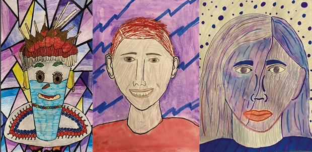 Portraits by Naba'a Hussein, Farhan Hinkle and Ivy Van Der Velden