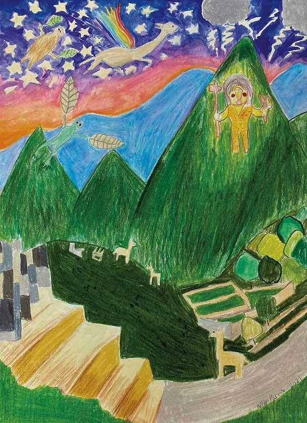 """""""Peru"""" by Eliza W., age 13"""