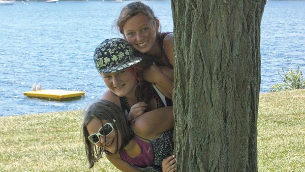 Kids at Kingsland Bay State Park - COURTESY OF KAITLIN ALFORD