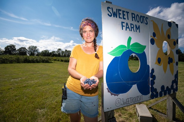Jane MacLean, the new owner of Sweet Roots - CAT CUTILLO