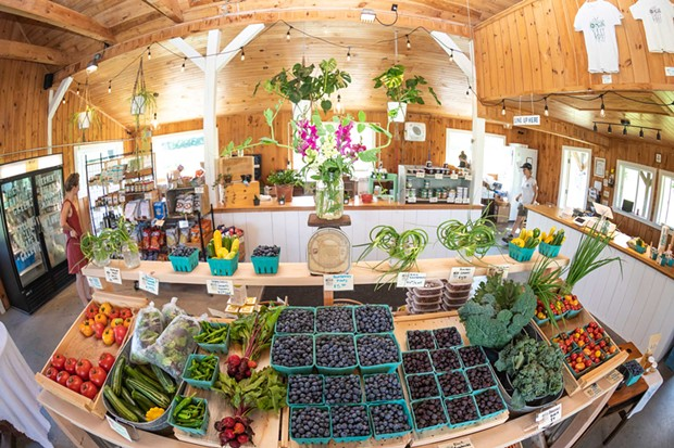 The market now offers full-plate items like beef and veggies as well as fruit - CAT CUTILLO