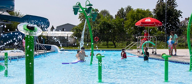 Myers Memorial Pool - COURTESY PAUL SARNE CITY OF WINOOSKI