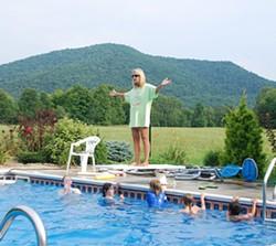 Historic Bates Farm Pool - COURTESY