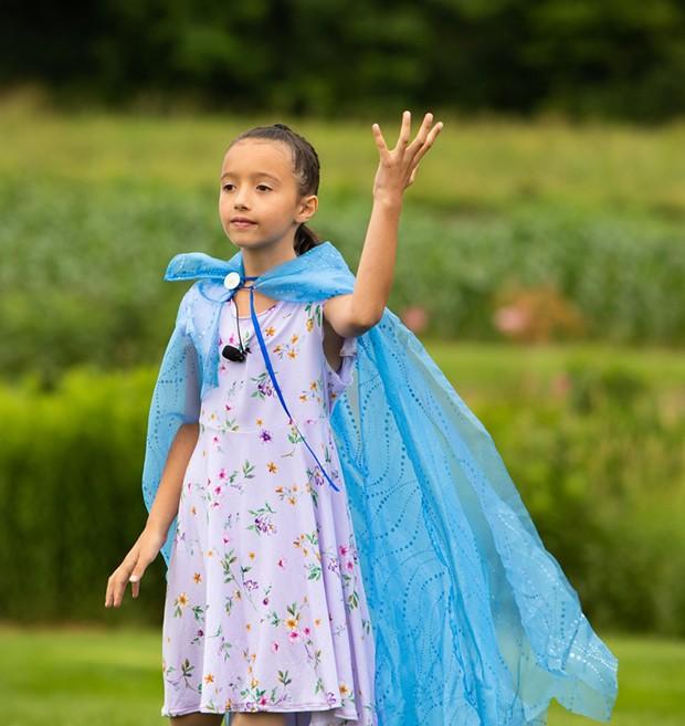 Violet Mercieca performing in the Farm to Ballet Project - CAT CUTILLO
