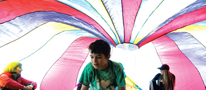 Children With Autism Have a Camp of Their Own