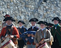 Memorial Day at Fort Ticonderoga