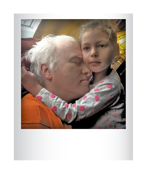 Dennis Wygmans and daughter, Thalia last year. Submitted by Nicole Curvin, South Burlington