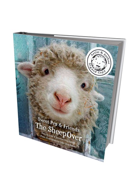 Sweet Pea & Friends: The Sheepover by John and Jennifer Churchman