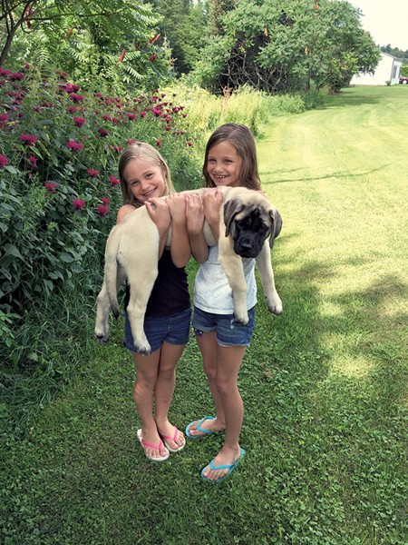Ari and Ellie with Remi