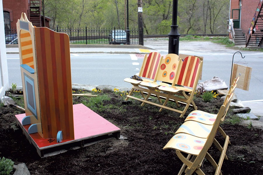 Community Workshop's pop-up theater