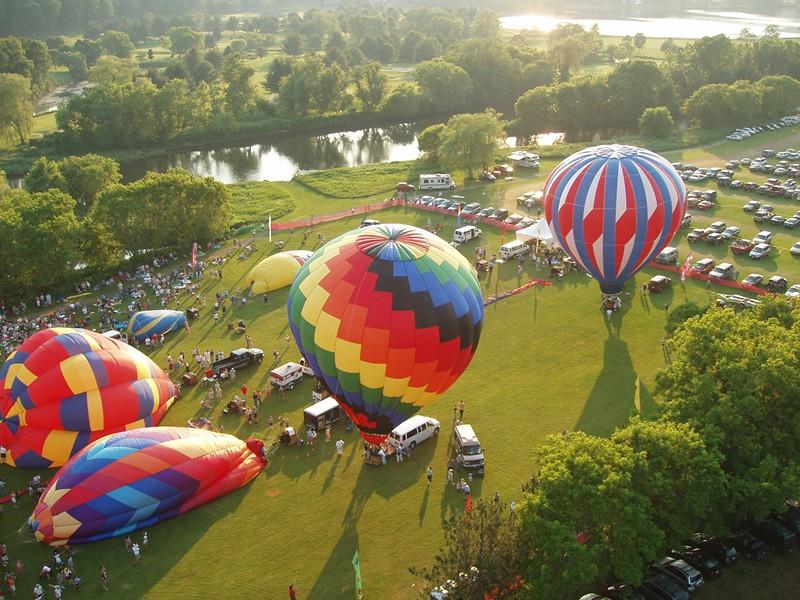 Quechee Hot Air Balloon Craft and Music Festival