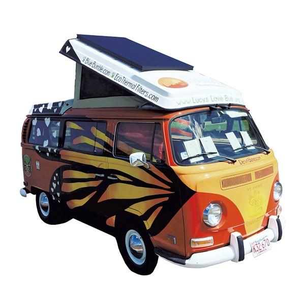 Lucy's Love Bus - COURTESY OF BEECHER GROGAN