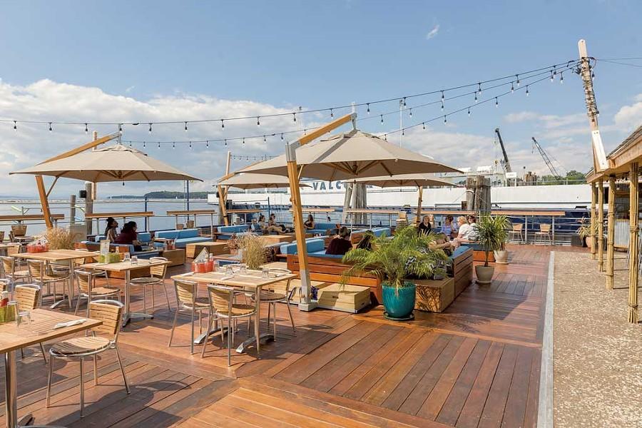 The Spot on the Dock on the Burlington Waterfront - OLIVER PARINI