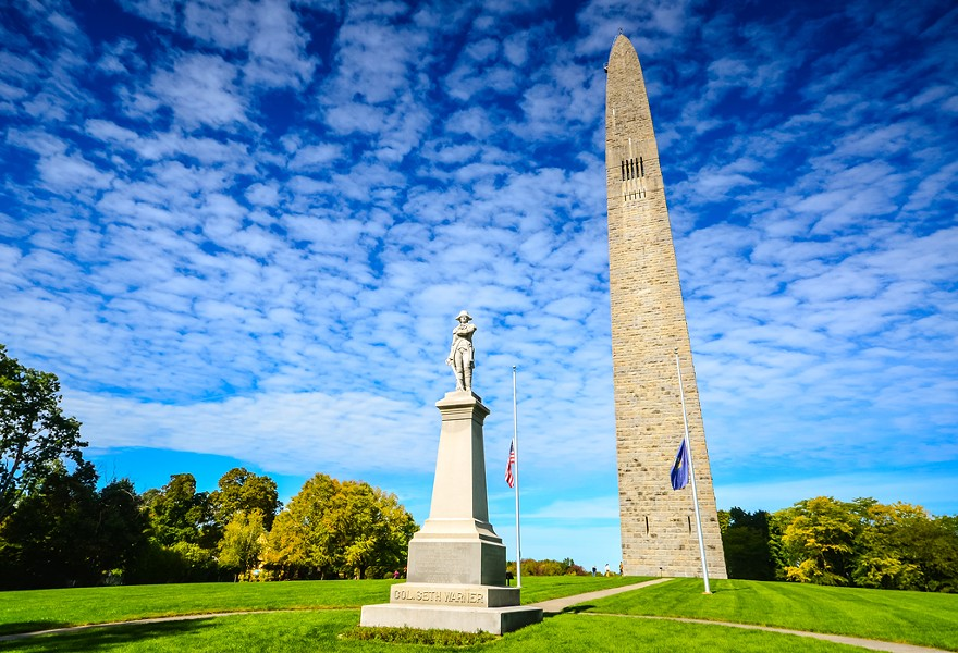 Bennington Battle Monument - DREAMSTIME
