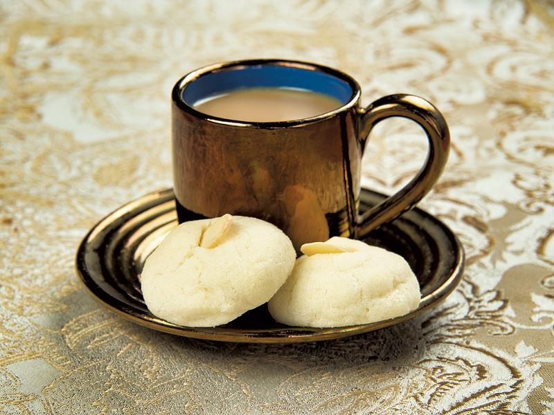 Swedish vanilla dream cookies and coffee - ANDY BRUMBAUGH