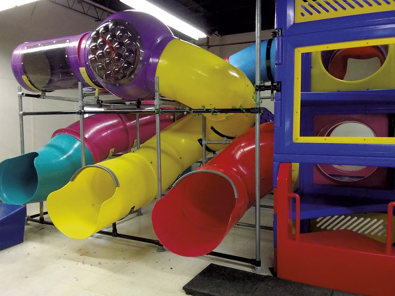 Romp! Indoor Playground - COURTESY OF JACKIE SCRIBNER