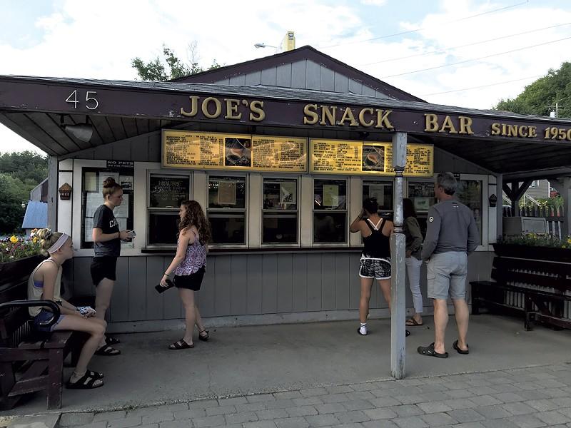 Joe's Snack Bar - COURTESY SALLY POLLACK