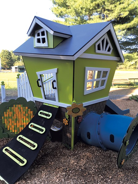 The storytime pavilion - COURTESY OF BONNIE KIRN DONAHUE