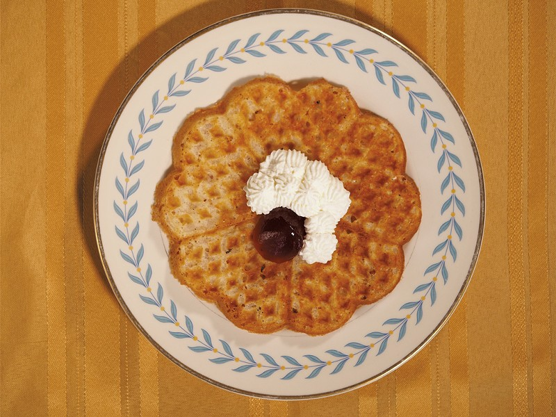Crispy Swedish Waffles - ANDY BRUMBAUGH